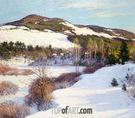 The Cornish Hills, 1911 by Willard Metcalf   Giclée Canvas Print