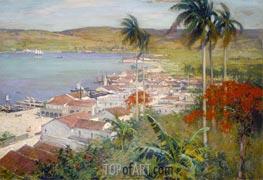 Havana Harbor, 1902 by Willard Metcalf   Giclée Canvas Print