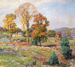 The Approaching Festival, 1922 by Willard Metcalf | Giclée Canvas Print