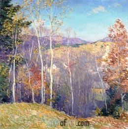Willard Metcalf | October Sunshine, 1923 | Giclée Canvas Print