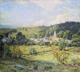 September Morning, Plainfield, New Hampshire, undated by Willard Metcalf | Giclée Canvas Print