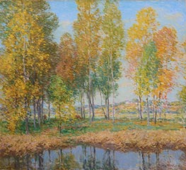 Willard Metcalf | October Festival, 1914 | Giclée Canvas Print