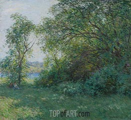 The Bower, 1907 by Willard Metcalf | Giclée Canvas Print