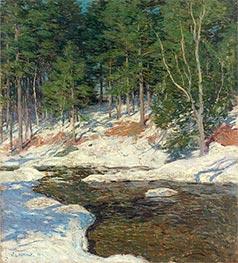 Willard Metcalf | Icebound, 1909 | Giclée Canvas Print