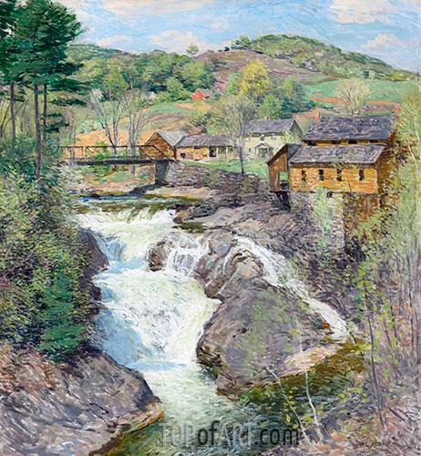 The Falls, c.1909/10 | Willard Metcalf | Painting Reproduction
