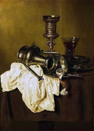 Still Life, 1642 by Claesz Heda | Giclée Canvas Print