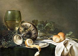 Claesz Heda | Still Life with Fly, undated | Giclée Canvas Print