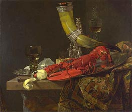 Willem Kalf | Still Life with Drinking Horn | Giclée Canvas Print