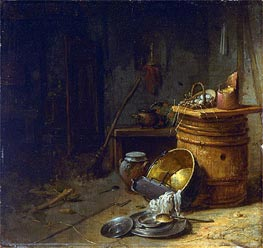 Willem Kalf | Kitchen | Giclée Canvas Print