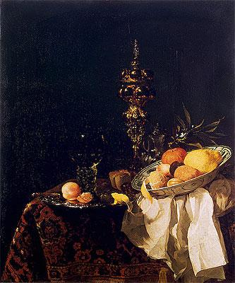 Dessert, c.1653/54 | Willem Kalf | Painting Reproduction