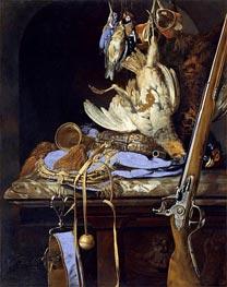 Willem van Aelst | Dead Birds and Hunting Gear, 1664 | Giclée Canvas Print