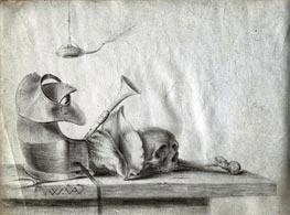 Willem van Aelst | Vanitas Still Life, undated | Giclée Paper Print