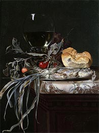 Willem van Aelst | Still Life with Fish Platter | Giclée Canvas Print