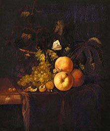 Willem van Aelst | Still Life with Fruit | Giclée Canvas Print
