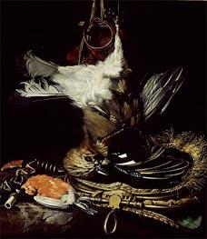 Willem van Aelst | Still Life with a dead Jay | Giclée Canvas Print