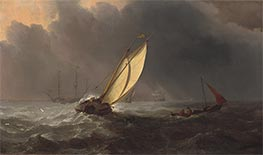 Willem van de Velde | Before the Storm, c.1700 | Giclée Canvas Print