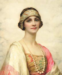 William Clarke Wontner | An Elegant Beauty, undated | Giclée Canvas Print