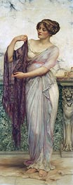 William Clarke Wontner | The Purple Scarf | Giclée Canvas Print