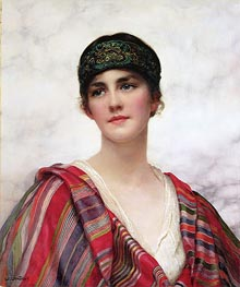 William Clarke Wontner | Cyrene | Giclée Canvas Print