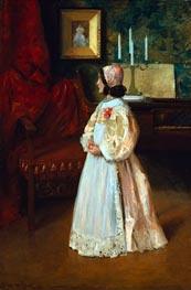 William Merritt Chase | Portrait of My Daughter Alice | Giclée Canvas Print