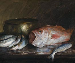 Red Snapper, undated by William Merritt Chase | Giclée Canvas Print