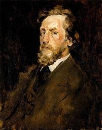 Portrait of Eilif Peterssen, c.1875 by William Merritt Chase   Giclée Canvas Print