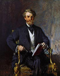 William Andrews Clark, c.1915 by William Merritt Chase | Giclée Canvas Print