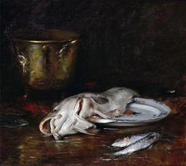 An English Cod, 1904 by William Merritt Chase | Giclée Canvas Print