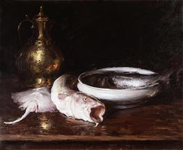Still Life, c.1913 by William Merritt Chase | Giclée Canvas Print