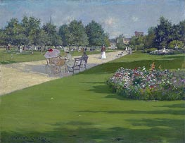 William Merritt Chase   Tompkins Park, Brooklyn   Giclée Canvas Print
