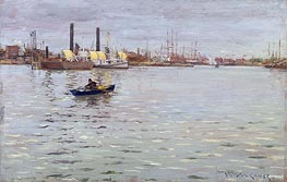 William Merritt Chase | The East River | Giclée Canvas Print