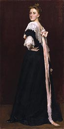 Lydia Field Emmet, 1892 by William Merritt Chase | Giclée Canvas Print