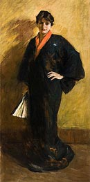 The Blue Kimono, 1915 by William Merritt Chase | Giclée Canvas Print