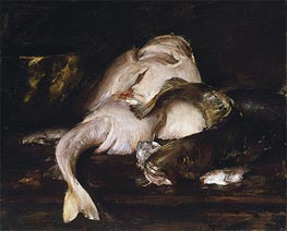 Still Life, Fish, 1912 by William Merritt Chase | Giclée Canvas Print