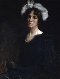 Bessie Potter, c.1895 by William Merritt Chase | Giclée Canvas Print