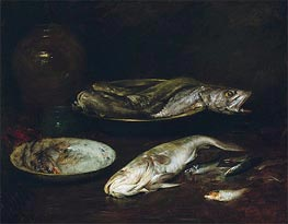 Still Life - Fish, c.1900 by William Merritt Chase | Giclée Canvas Print