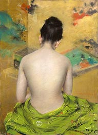 William Merritt Chase | Study of Flesh Color and Gold, 1888 | Giclée Paper Print