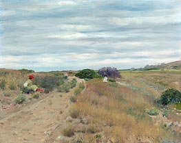 William Merritt Chase | The Old Sand Road | Giclée Canvas Print
