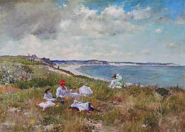 William Merritt Chase | Idle Hours, c.1894 | Giclée Canvas Print