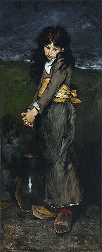 Broken Jug, c.1876 | William Merritt Chase | Painting Reproduction