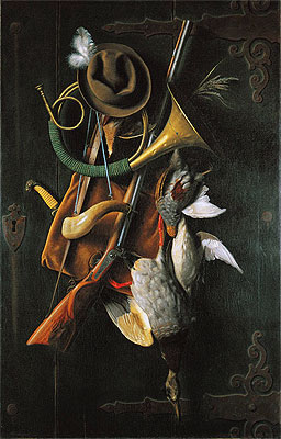 After the Hunt, 1883 | William Michael Harnett | Painting Reproduction