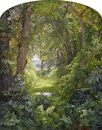 William Trost Richards | Woodland Landscape (Woodland Glade) | Giclée Canvas Print