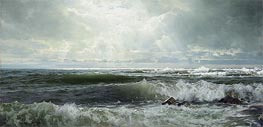 William Trost Richards | The Sheepfold, Easton's Point, Newport, 1890 | Giclée Canvas Print