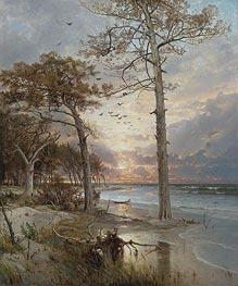 William Trost Richards | At Atlantic City, 1877 | Giclée Canvas Print