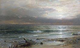 William Trost Richards | Point Judith, 1885 | Giclée Canvas Print