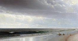 William Trost Richards | Newport Beach, 1873 | Giclée Canvas Print