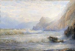 William Trost Richards | Crashing Waves, 1899 | Giclée Paper Print