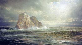 William Trost Richards | The Skelligs, Coast of Ireland, 1893 | Giclée Canvas Print