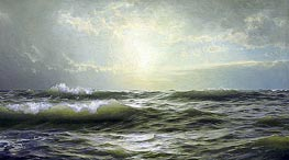 William Trost Richards | On the Coast of New England, 1894 | Giclée Canvas Print