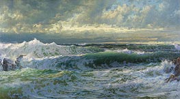 William Trost Richards | After a Gale, 1903 | Giclée Canvas Print